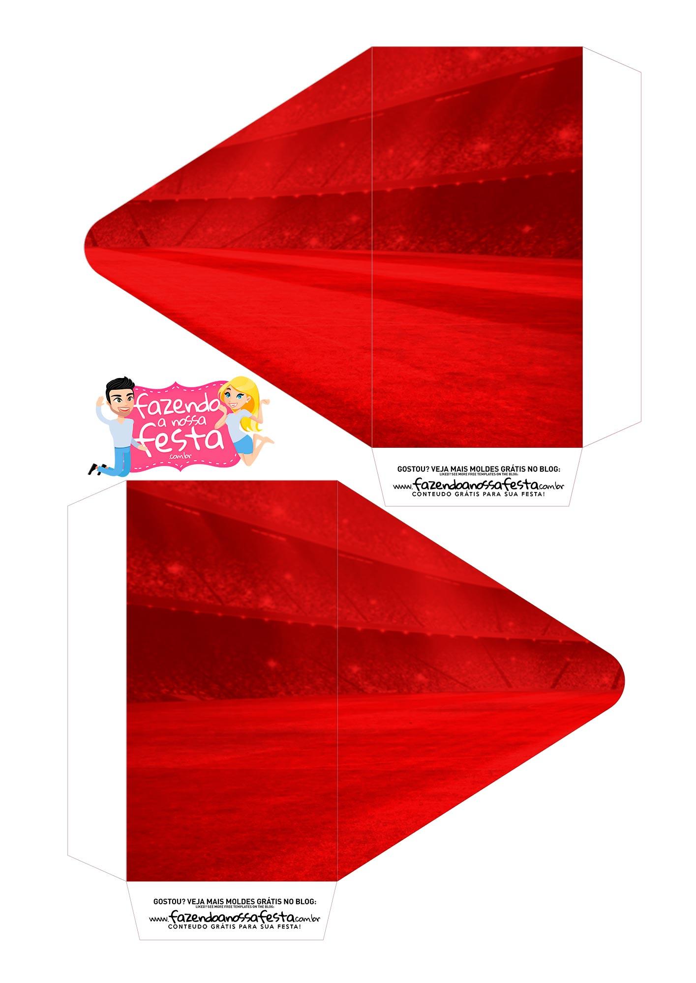 Caixa Envelope Sport Recife 1