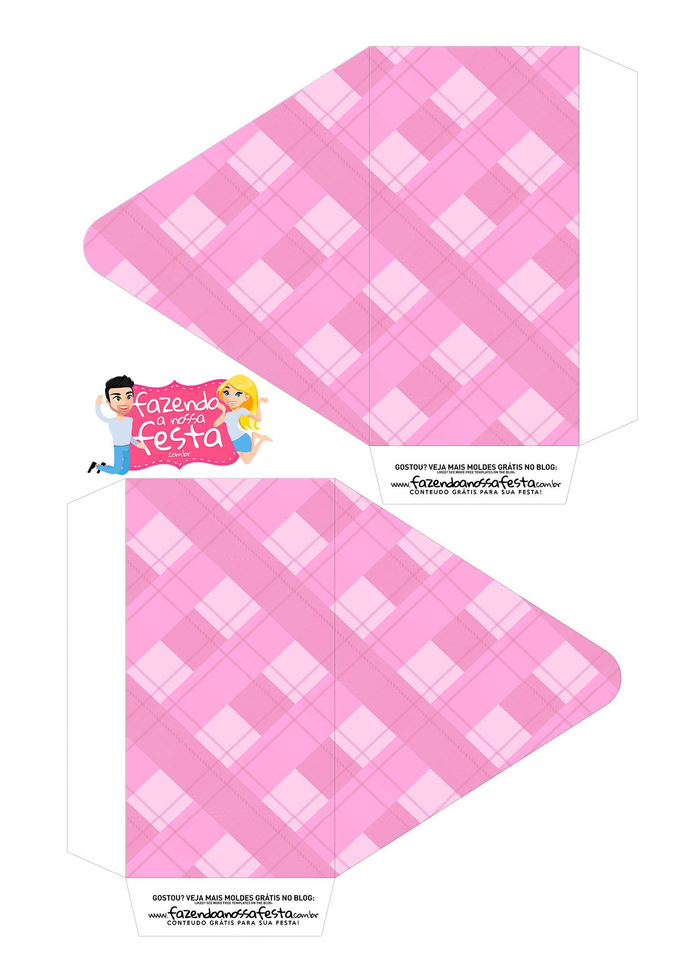 Caixa Envelope Vovo Rosa 1