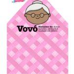 Caixa Envelope Vovo Rosa 2