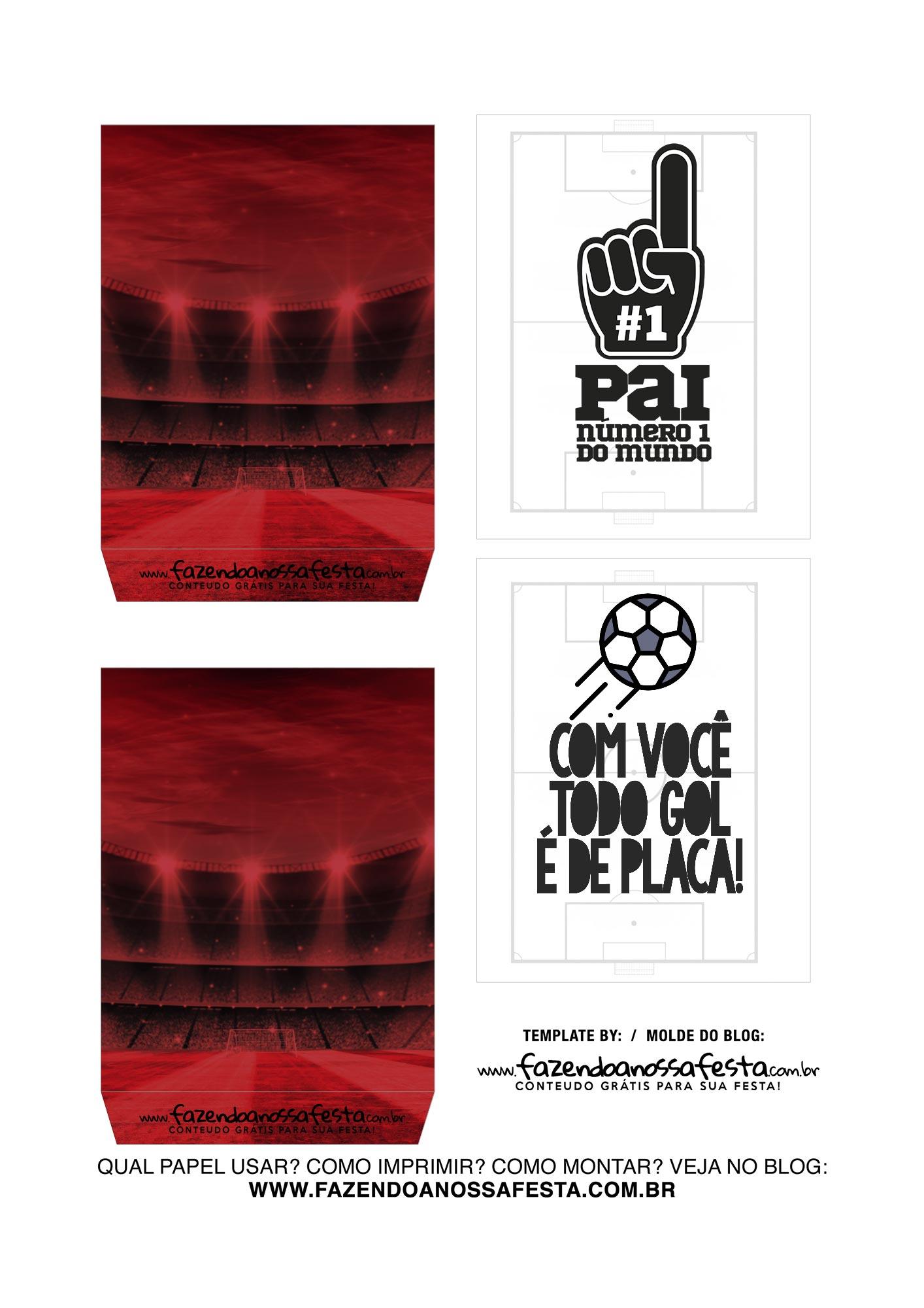 Caixa Explosao Dia dos Pais Times Flamengo Parte 3