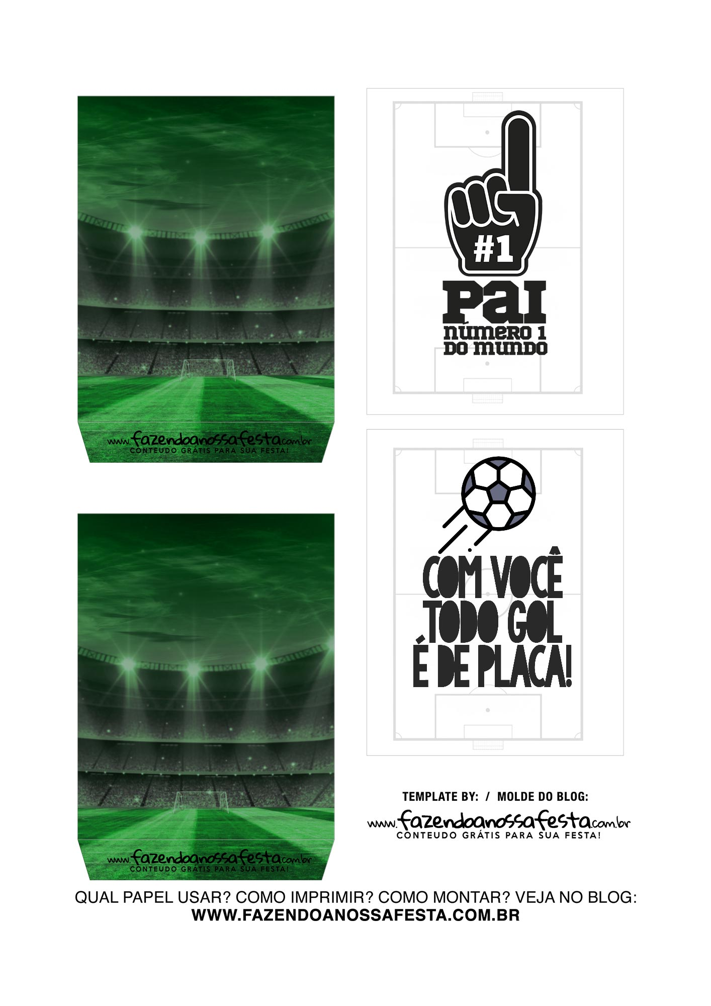 Caixa Explosao Dia dos Pais Times Palmeiras Parte 3