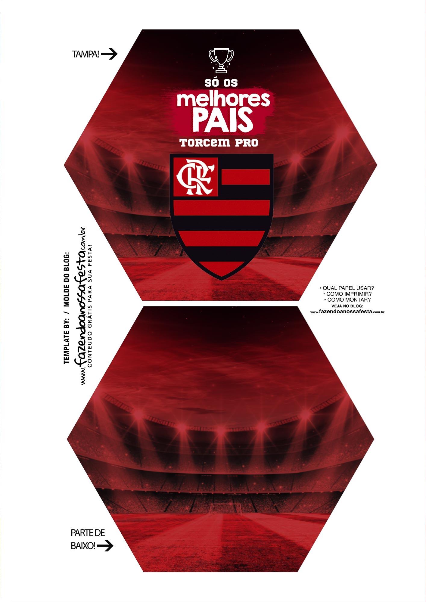 Caixa Explosao Times de Futebol Flamengo Parte 1