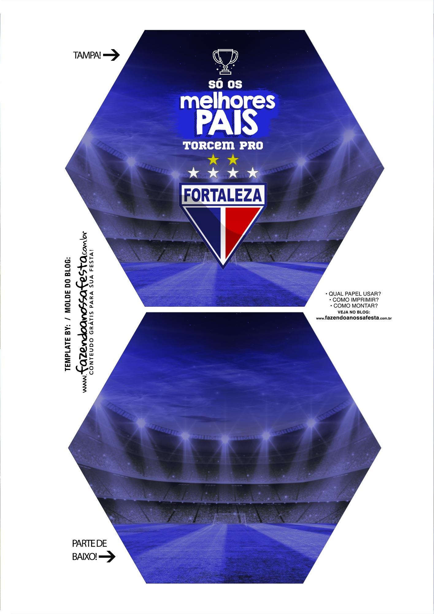 Caixa Explosao Times de Futebol Fortaleza Parte 1