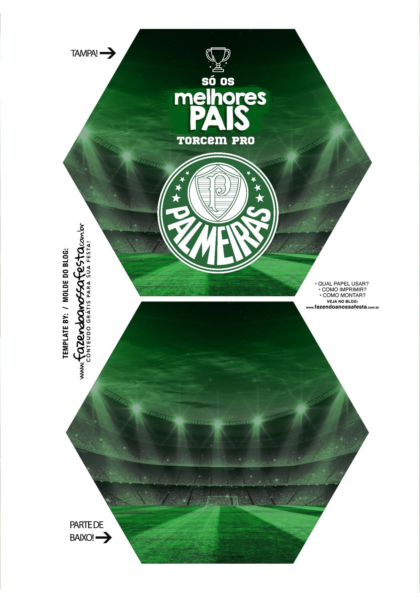 Caixa Explosao Times de Futebol Palmeiras Parte 1