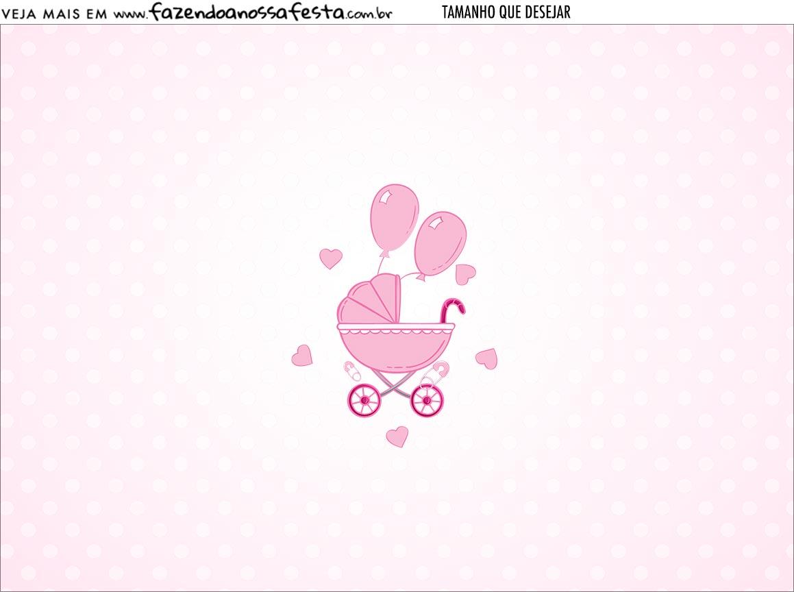 Personalizado Cha de bebe Menina