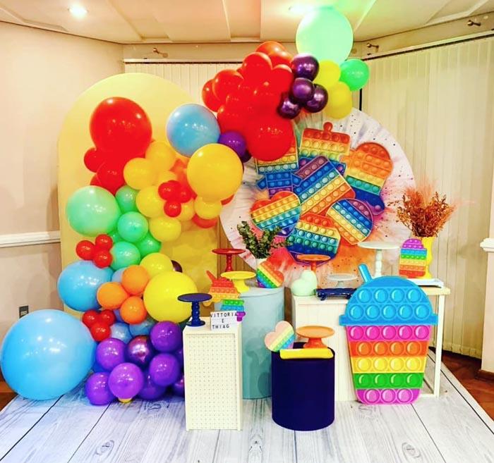 17 Ideias para Festa Pop It