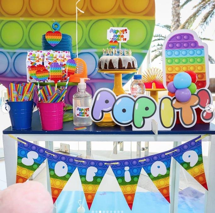 24 Ideias para tema Festa Pop It 2