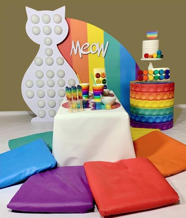 26 Ideias Festa Fidget Toys