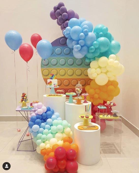 28 Ideias para tema Festa Pop It