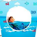 Adesivo Balde de Pipoca Luca Disney