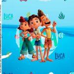 Adesivo Caixa Acrilica Luca Disney