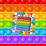 Adesivo Para Imprimir Kit Festa Fidget Toys