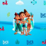 Adesivo Para Imprimir Luca Disney