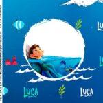 Adesivo Quadrado Luca Disney