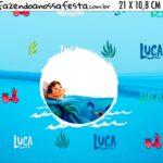 Adesivo para Cofrinho Luca Disney