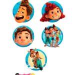 Aplique Caixinhas 2 Kit Festa Luca Disney