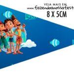 Bandeirinha Sanduiche para imprimir Luca Disney