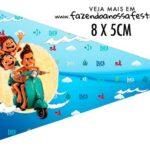 Bandeirinha Sanduiche personalizado Luca Disney