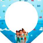 Bandeirinha Varalzinho Luca Disney