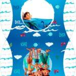 Caixa Almofada bolsinha Luca Disney
