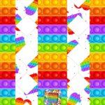 Caixa Bala Pop It Fidget Toys