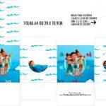 Caixa Kit Colorir Luca Disney