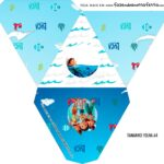 Caixa Piramide Personalizada Luca Disney