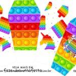 Caixinha China in Box Pop It Fidget Toys