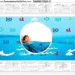 Calendario Personalizado 2020 Luca Disney