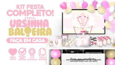 Kit Festa Ursinha Baloeira