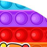 Painel Redondo Colorido Pop It 3