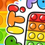Painel Redondo Colorido Pop It 6