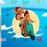 Rotulo Caixa Acrilica Luca Disney