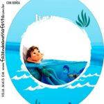 Rotulo Oval Luca Disney