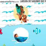 Rotulo Saquinho de Bala Luca Disney