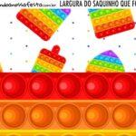Rotulo Saquinho de Bala Pop It