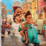 Rotulo para Caixa de Acrilico Luca Disney