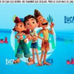 Saia Lateral de Bolo Luca Disney