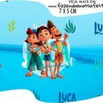 Topper Bandeirinha Luca Disney