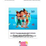 Tubete Cenario Kit Festa Luca Disney parte 2