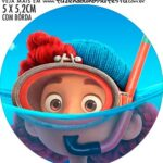 adesivo mini baleiro Luca Disney