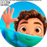 adesivo mini latinha Luca Disney