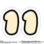 11 Numeros Pop It Candy Color