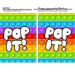 caixa mini confeiteiro dia das crianças Abas Pequenas Pop It Parte 3