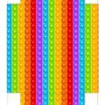 Caixa Maleta Colorir Dia das Criancas parte 2
