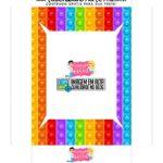Caixa Maleta Colorir Dia das Criancas parte 3