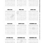 Calendario 2022 para imprimir Dia dos Professores 6