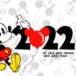 Calendario Mensal 2022 Mickey Capa