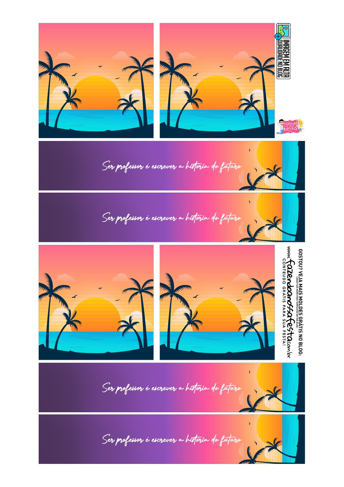 Cartão Lápis e Bala Dia dos Professores Tardezinha