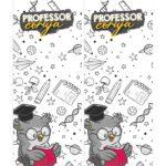 Cartão Lápis e Bala Dia dos Professores coruja
